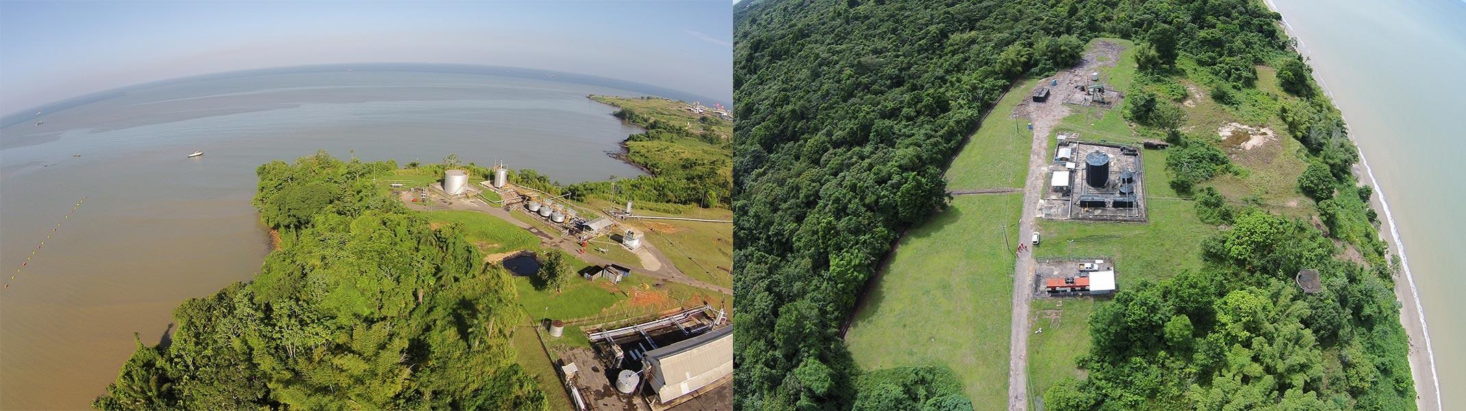 Established Facilities: Aerial of Brighton and Pt. Ligoure Land Facilities